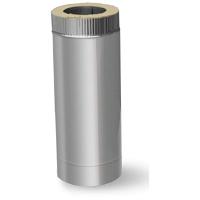 Сэндвич труба для дымохода 150 /220 оцинковка/нержавейка