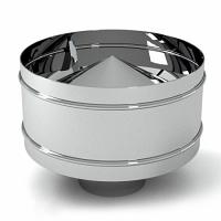 Дефлектор труба для дымохода нержавейка/ нержавейка