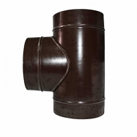 Тройник труба для дымохода 150 /220 нержавейка/цветное железо