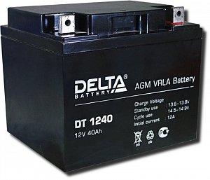 Аккумулятор 12 В, 40 Ач DT 1240 Delta