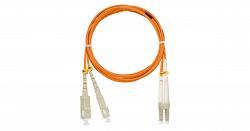 Шнур волоконно-оптический NIKOMAX NMF-PC2M2C2-SCU-LCU-001
