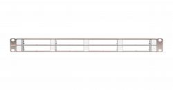 Коммутационная панель NIKOMAX NMC-RP08-BLANK-CJ-1U-MT