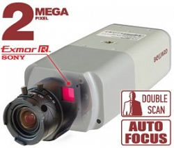Внутренняя корпусная IP-видеокамера Beward BD3730M