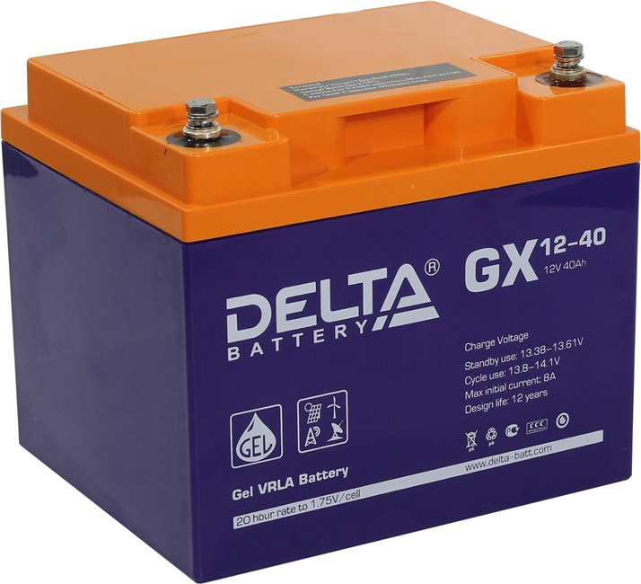 Аккумуляторная батарея Gigalink GX12-40
