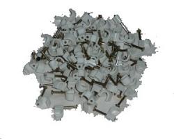 Скобы пластиковые для крепления сенсорного кабеля GEOQUIP GQCL-2