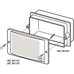 Корпус для монтажа LBC 3011/41 и LBC 3011/51 - BOSCH LBC3013/01