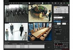 Программное обеспечение MonitoringSoftwareRecorder; 9 каналов - Sony IMZ-NS109M