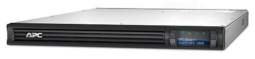 Источник бесперебойного питания APC Smart-UPS 1500 ВА с ЖК-индикатором, стоечного исполнения высотой 1U, 230 В