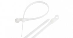 Стяжка NIKOMAX нейлоновая неоткрывающаяся, 150х3,5мм NMC-CTN150-35-MT-WT-100