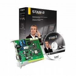 Главная плата станции централизованного наблюдения с ПО Satel STAM-2 BT