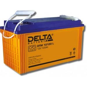 Аккумулятор Delta DTM 12120