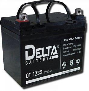 Аккумулятор 12 В, 33 Ач DT 1233 Delta