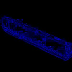 Стрела прямоугольная алюминиевая  6,85 м  CAME G0601
