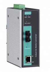 Медиаконвертер Ethernet MOXA IMC-P101-M-ST-T