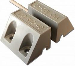 Извещатель охранный точечный магнитоконтактный, кабель без защитного рукава Магнито-контакт ИО 102-40 Б2П (1)