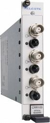 Устройство приёма видеосигнала по многомодовому волокну Teleste CRR103