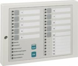 Блок индикации на 16 групп/ блокировки на 10 групп детекторов - Honeywell 012544.G0