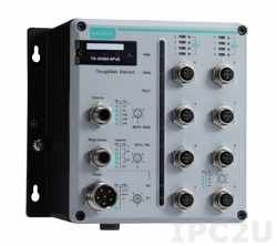 Управляемый коммутатор MOXA TN-5508A-8PoE-WV-CT-T