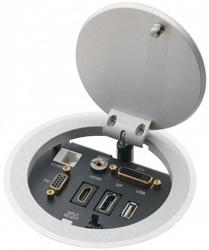 Модуль для подключения кабелей Kramer RTBUS-21/DE/220V(BC)