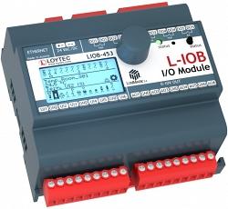 Модуль I/ O LonMark IP‑852 с физическими входами и выходами LIOB-453