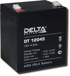 Аккумулятор 12 В, 4,5 Ач DT 12045 Delta