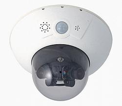 Купольная сетевая видеокамера Mobotix MX-D15Di-Sec-DNight-D51N51-FIX