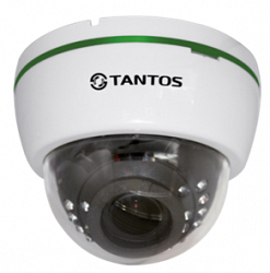 Купольная IP видеокамера Tantos TSi-De2VPA (2.8-12)