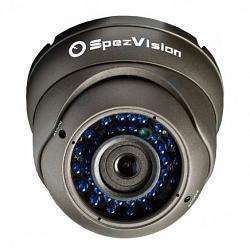 Виброустойчивая купольная IP камера SpezVision SVI-352B