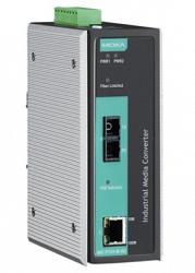 Медиаконвертер Ethernet MOXA IMC-P101-S-SC