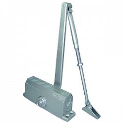 E-603D серебро Доводчик для дверей весом до 75 кг