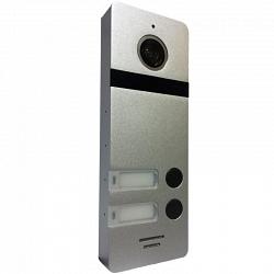 Многоабонентская вызывная панель Сатро САТРО-DP-02-HD110-S (серебро панель 110гр 800твл)