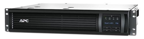 ИБП APC Smart-UPS 750 ВА с ЖК-экраном, в стоечном шасси высотой 2U, 230 В, с сетевой платой