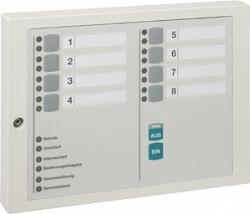 Блок индикации и блокировки на 8 групп детекторов - Honeywell 012532