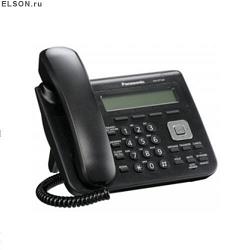 Проводной SIP телефон Panasonic KX-UT123RU-B