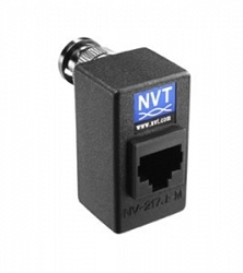 Одноканальный пассивный видео передатчик/приемник NVT NV-217J-M