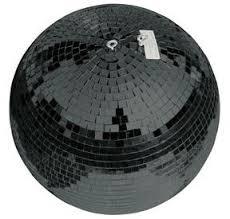 Зеркальный шар Eurolite Mirror Ball 50 cm BLACK
