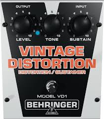 Педаль эффектов Behringer VD 1