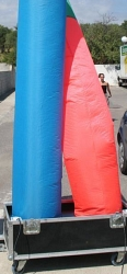 Надувная труба для генератора SFAT Tube 350 colour- 6 meters
