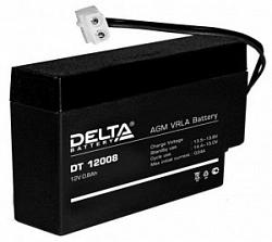 Аккумулятор 12 В, 0,8 Ач DT 12008 Delta