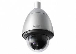 Уличная антивандальная скоростная поворотная IP видеокамера Panasonic WV-SW397B