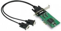 2-портовая низкопрофильная плата MOXA CP-132EL-DB9M