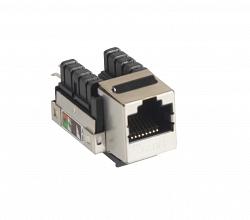 Модуль-вставка NETLAN EC-UKJ-SD2-MT-10