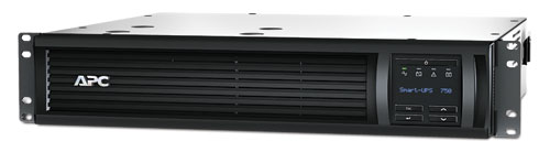 ИБП APC Smart-UPS 1500 ВА с ЖК-экраном, в стоечном шасси высотой 2U, 230 В, с сетевой платой