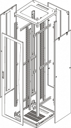Напольный шкаф (каркас) TLK TFR-338080-XXXX-GY