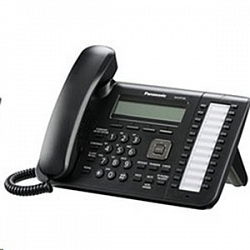 Проводной SIP телефон Panasonic KX-UT133RU-B