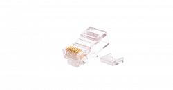 Коннектор NIKOMAX RJ45/8P4C под витую пару, Кат.5 (Класс D) NMC-RJ84FZ06UD1-100