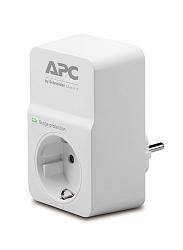 Сетевой фильтр APC Essential SurgeArrest, 1 розетка, 230 В PM1W-RS