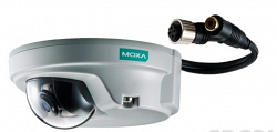 Купольная IP видеокамера MOXA VPort P06-1MP-M12-MIC-CAM36-CT