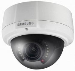 Цветная купольная уличная видеокамера Samsung SCV-3081RP