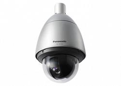 Уличная антивандальная скоростная поворотная IP видеокамера Panasonic WV-SW598A